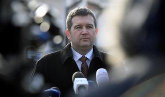 Za ČSSD by ve vládě neměli zasednout poslanci, myslí si Hamáček