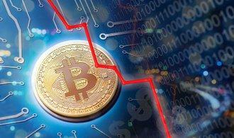 Bitcoin zaznamenal jeden z největších propadů za poslední roky
