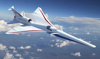 NASA již brzy pokročí s výrobou nástupce Concordu, prohlédněte si futuristický letoun
