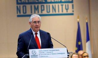 Tillerson viní syrskou vládu z použití chemických zbraní proti lidu. Sýrie to odmítá