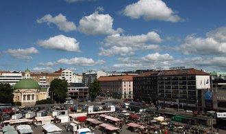 Ve finském Turku začal útočník bodat do lidí. Policie ho postřelila a zatkla