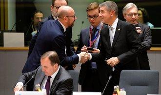 Evropští lídři debatovali o kvótách. Někteří byli dost agresivní, uvedl Babiš