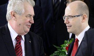 Glosa Jany Havligerové: Zeman kontra Sobotka