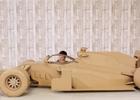 Neuvěřitelné: Vozy formule 1 z kartonu, plechovek a sirek [videa]
