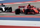 Texaský strategický masakr ovládl Räikkönen! Hamilton třetí