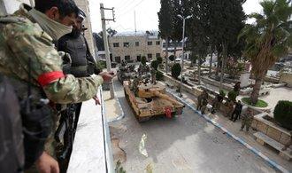 Turecká armáda dobyla syrský Afrín, z města utekly desítky tisíc lidí