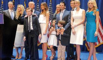 Nový americký prezident se bude moci opřít o rozsáhlý rodinný klan