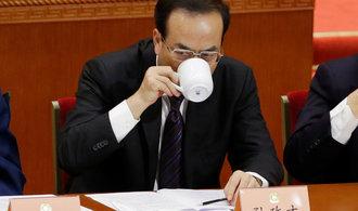 Miláčka čínského politbyra smetlo vyšetřování kvůli korupci. Byl nadějí nejužšího vedení strany