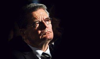 Gauck: Německo potřebuje demokracii schopnou boje i obrany