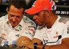 Schumacher nepatří mezi Top 5. Hamilton je mnohem lepší, říká Villeneuve