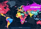 Nejvyhledávanější automobilky podle Googlu: Vítěz v Česku vás překvapí