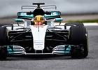Mercedes testuje dvojité T-křídlo a ukazuje potenciál současných vozů