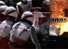 Fotogalerie: Plameny a kouř ve formuli 1