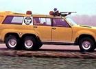 Znáte šílené Sbarro Windhawk? Je to lovecké SUV pro saúdského krále