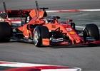 V první den testů byl nejrychlejší Vettel před Sainzem