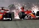 Singapurská kolize ze všech možných úhlů: F1 uveřejnila videa