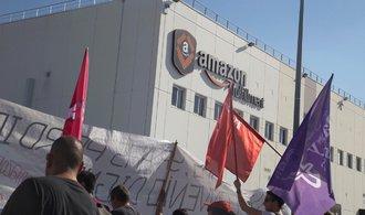 Odbory v českém Amazonu se zapojí do evropských protestů zaměstnanců