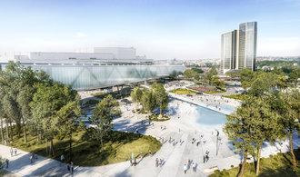 Nová výstavní hala Kongresového centra Praha má už jasný obrys