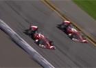 Video: Räikkönen a Vettel se projeli po ovále v Daytoně