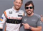 Pokud nebude Alonso věřit zlepšení McLarenu, tak odejde, říká Button