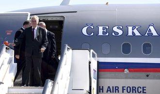Prezident Zeman zavítá na Slovensko, sejde se s Kiskou
