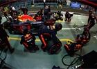 Nejrychlejší zastávky měl v roce 2018 Red Bull. Cenu od DHL dostal i Bottas