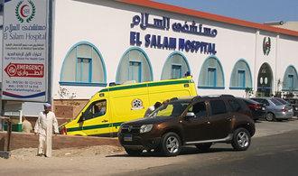 Česká turistka pobodaná v Egyptě je ve stavu klinické smrti
