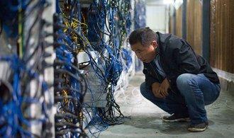 Policie v Číně zabavila stovky zařízení na těžbu bitcoinu