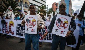 Spojené státy, Mexiko a Kanada vyjednávají o budoucnosti volného obchodu
