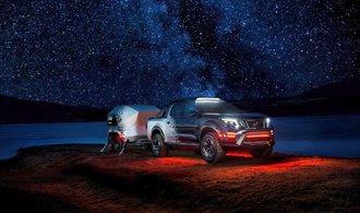 OBRAZEM: Nissan představil mobilní vesmírnou observatoř