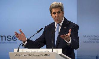 Kerry: Syrské vládní síly páchají válečné zločiny. Musí to přestat