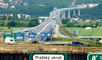 Stavba Pražského okruhu pokročila do další etapy