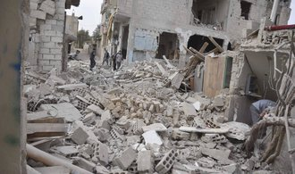 Ruská letadla zaútočila na syrskou opozici