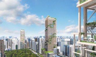 Dřevo jako budoucnost mrakodrapů. Podívejte se, co postaví v Tokiu a Londýně