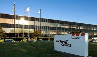 V�robce leteck�ch sou��stek Rockwell Collins koup� B/E Aerospace, akcion��i vyd�laj� 20 procent