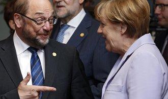 Půjde Merkelová od válu? Její stranu v průzkumu po 11 letech předstihli socialisté