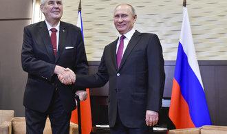 Vděčnost za sovětskou invazi? Zemana článek na ruském armádním webu rozhořčil