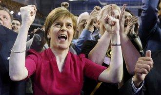 Skotsko žádá druhou šanci - nové referendum o nezávislosti na Británii