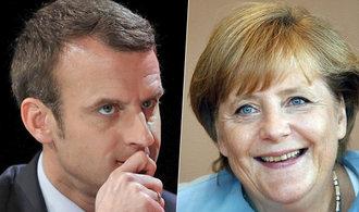 Pomůže Macronovi v boji proti Le Penové setkání s Merkelovou?