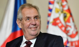 Zeman vyznamená exšéfku ERÚ Vitáskovou i podnikatele Krúpu