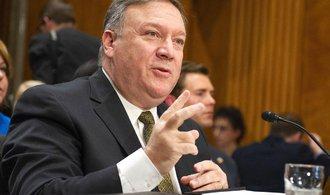 Novým ministrem zahraničí USA je dosavadní ředitel CIA Pompeo, schválil ho Senát