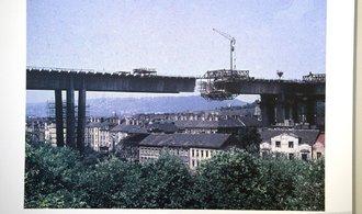 OBRAZEM: Tak šel čas s Nuselským mostem. Známá stavba existuje už 45 let