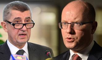 Sobotka: Klíčová otázka je, jestli můžeme mít ministra financí podezřelého z daňových podvodů