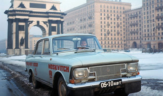 Výroba Moskviče 412 začala před 50 lety. Připomeňte si známý sovětský automobil