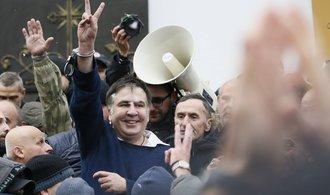 Saakašvili nesmí tři roky na Ukrajinu