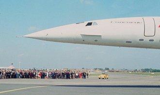 OBRAZEM: Majestátní Concorde před 45 lety přeletěl Atlantik v rekordním čase