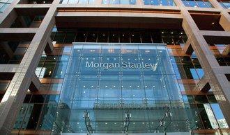 Banka Morgan Stanley zvýšila zisk o devatenáct procent