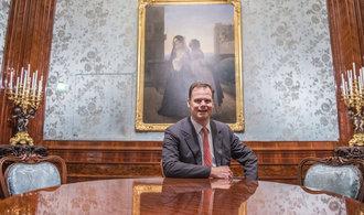 Provozovat historický palác fakt není ziskové, říká Konstantin z Lichtenštejna