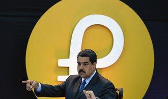 Venezuelská vláda rozjela svou kryptoměnu. Chce s ní obejít sankce