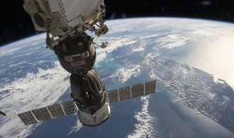 Z Bajkonuru odstartoval další Sojuz, na ISS dopraví Rusa, Američana a Japonce